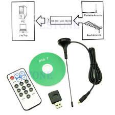 USB Digital DVB-T SDR & FM & R820T & DVB-T HDTV Tuner Receiver RTL2832U3