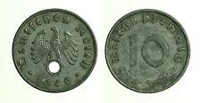 pcc1247_7) GERMANY  10 REICH PFENNIG 1940 A ZINC
