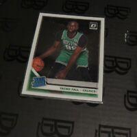 2019-20 Tacko Fall Rated Rookie Card Panini Optic Boston Celtics NBA #161