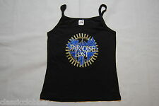 PARADISE LOST FLOWERS TRAGIC IDOL LADIES SKINNY STRAPPY VEST TOP NEW OFFICIAL