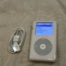 Apple iPod Classic 4th Generation White (20 GB) A1059