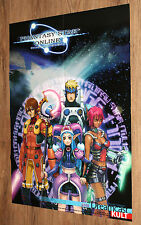 Sega Dreamcast Phantasy Star Online / Vanishing Point very rare Poster 81x58cm
