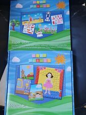 Play School Paper Dolls  and Mosaic set - Educational Toys - NEW