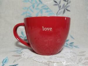 Red Coffee Mug, Coffee Break Collection  Signature Housewares Incorporated