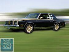 1979-80 Oldsmobile Cutlass Hurst Olds H/O Stripe / Decal Kit - Gold & Black Car