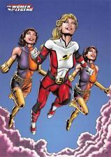 SATURN GIRL & DUPLICATE DAMSEL / DC Comics The Women of Legend BASE Card #54
