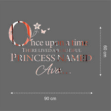 Rose Gold Personalised Wall Stickers Event Decor Seating Plans Weddings Mirror