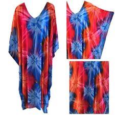 Rayon Kaftan Size Plus Dresses for Women