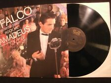 FALCO - Rock Me Amadeus -1985 Vinyl 12'' Single/ VG+/ 80's Pop Rock AOR