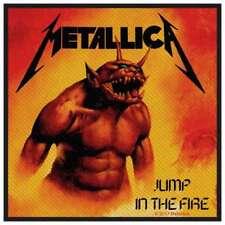 METALLICA - Patch Aufnäher Jump in the fire 10 x 10cm