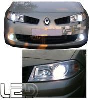 Megane 2  2 Ampoules LED Blanc Veilleuses Feux de Position  Anti erreur ODB