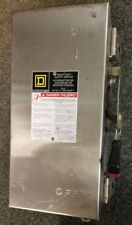H221DS SQUARE D 30 AMP STAINLESS STEEL SAFETY SWITCH