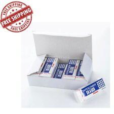 Pentel Hi Polymer Block Eraser Large White Pack Of 10 Zeh10pc10