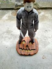 Halloween michael myers,pumpkin stand 1/6 scale ,sideshow ,hot toys ,medicom