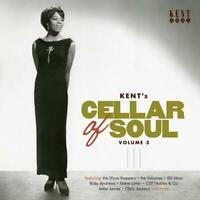 KENT'S CELLAR OF SOUL VOLUME 3 Various -New & Sealed 60s Soul CD (Kent) Northern