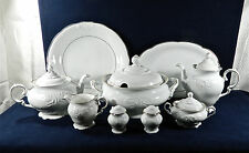 "81-PCS (OR LESS) ROYAL KENT, POLAND ""RKT17 - RAISED SCROLL"" PAT PORCELAIN/CHINA"