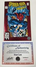 Marvel Spider-man 2099 #1 Foil Cover Signed by Stan Lee w/COA