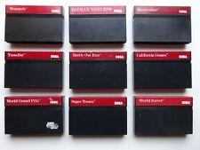 Sega. Sega Master System. Lot sega. Lot de 9 jeux en loose. A voir