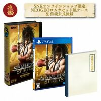 SNK SAMURAI SPIRITS PS4 PACK Online Shop Limited On Sale New F/S