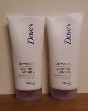 Dove DermaSpa Youthful Vitality Body Lotion 200ml x 2 FREEPOST