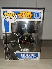 Chrome Darth Vader Funko Pop Vinyl Figure #01 Star Wars Disney