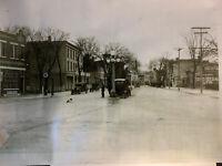 Sag Harbor Main Street Long Island New York Antique Photograph Print Poster