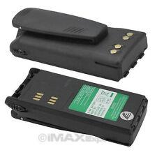 2 x 2100mAh Extended Hnn9008 Hnn9009 Battery for Motorola Ht750 Ht1250 Ht1550