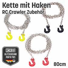 Kette mit Haken Rot Gelb Schwarz RC Crawler Zubehör Traxxas NEU