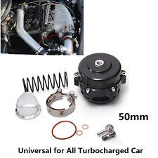 1pcs 50mm Car Turbo Blow Off Valve BOV Vband Flange Spring 5.8-18 Psi Tial Black