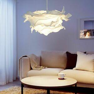 IKEA KRUSNING Pendant Lamp Shade White Paper 85cm NEW