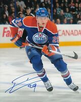 CONNOR McDAVID & LEON DRAISAITL ( E. OILERS )  - TWO 5 x 7 SIGNED PHOTO REPRINTS