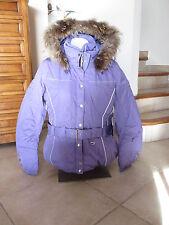 veste blouson  ski poivre blanc mauve neuve avec étiquettes taille M