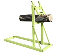 Portable Saw Horse Chainsaw Stand Holder Firewood Log Stand Log Holder BM11536A