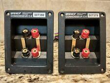(2) Energy Connoisseur C-6 Speaker Terminal/ Crossover Assemblies  *Tested*