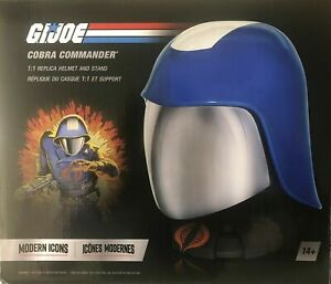 G.I. Joe Hasbro Modern Icons 1:1 Cobra Commander Helmet Lifesize Prop Replica