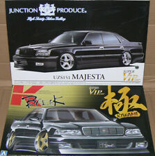 Toyota Majesta UZS151 Junction Produce & UZS141 K-Break Kiwami Aoshima 1/24