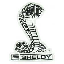 ford cobra metal embossed garage sign ford shelby snake automotive sign man cave