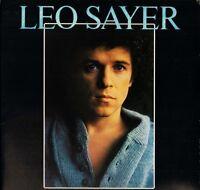 LEO SAYER leo sayer self titled CDL 1198 A3/B1 uk chrysalis LP PS EX/EX + inner