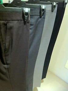 NEW MENS DRESS  BUSINESS FORMAL CASUAL PANTS TROUSERS (SIZE 28 - 48)