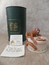 Harmony Kingdom monkey Koko's Treat box Fixed Edition by artist Monique Baldwin