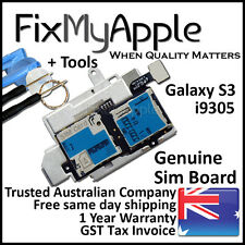 Samsung Galaxy S3 i9305 OEM Sim Micro SD Card Reader Board Tray Pins Replacement