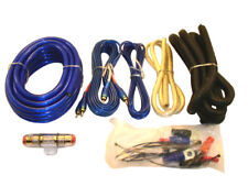 4 Gauge Amp Wiring Kit /60 amp cables with hardware