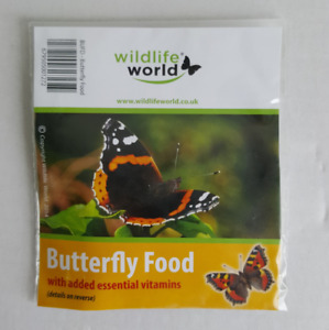 Butterfly food & Attractant sugar solution complete with vitamins