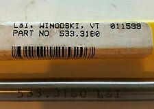 L&I  533.3180 windoski, vt HSS A99 6 flute lot of (2)