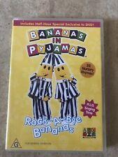 BANANAS IN PYJAMAS ROCK-A-BYE BANANAS RARE ABC DVD R4 AUS SELLER