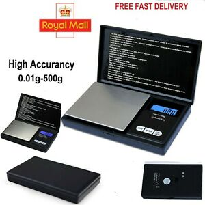 0.01G-500G Digital Weighing Scales Pocket Scale Jewelry Scale Kitchen Herb gram