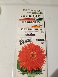 EMPTY Wholesale Lot of 250 Old Vintage Vegetable SEED PACKETS 5B 20 cent