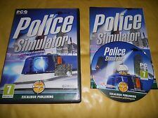 PC GAME-POLICE SIMULATOR-Computer-Gioco-Games-INGLESE ING