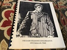 The Dark Shadows Concordance 1970 Parallel Time
