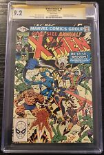 Uncanny X-Men King Size Annual #5 CGC 9.2 signed by Stan Lee Fantastic Four WP